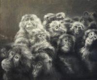 S/t Óleo sobre lienzo 46 x 55 cm 2017